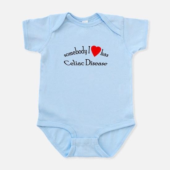 somebody I heart Celiac Dise Infant Bodysuit