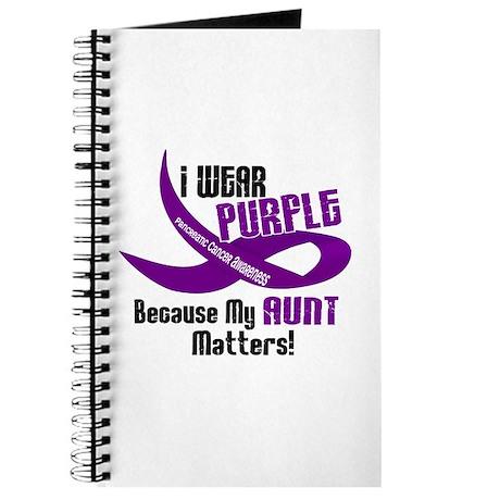 I Wear Purple (Aunt) 33 PC Journal