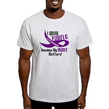 I Wear Purple (Aunt) 33 PC T-Shirt