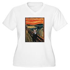 Chihuahua Scream Munch T-Shirt