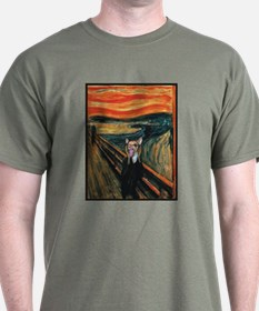 Chihuahua Scream Munch T-Shirt