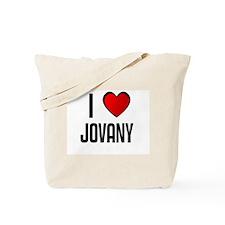 I LOVE JOVANY Tote Bag