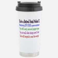 Retirement Travel Mug