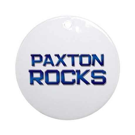 paxton rocks Ornament (Round)