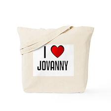 I LOVE JOVANNY Tote Bag