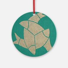 """Three Fish"" Ornament (Round)"