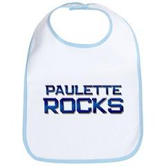 paulette rocks Bib