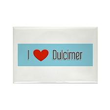 Dulcimer Gift Rectangle Magnet
