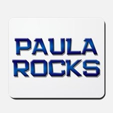 paula rocks Mousepad