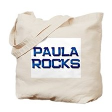 paula rocks Tote Bag