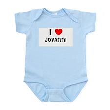 I LOVE JOVANNI Infant Creeper