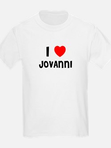 I LOVE JOVANNI Kids T-Shirt