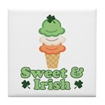 Sweet and Irish Tile Coaster