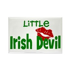 Irish Devil Rectangle Magnet