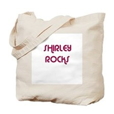 SHIRLEY ROCKS Tote Bag