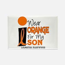 I Wear Orange For My Son 9 Leukemia Rectangle Magn