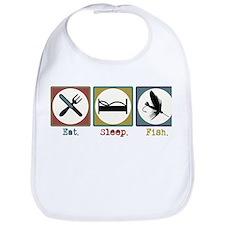 Eat Sleep Fly Fish Bib