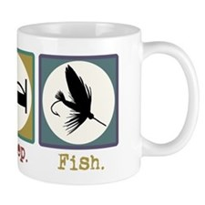 Eat Sleep Fly Fish Mug