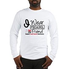 Lung Cancer Friend Long Sleeve T-Shirt