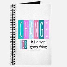 Change, a good thing Journal