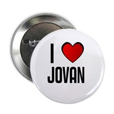 "I LOVE JOVAN 2.25"" Button (10 pack)"