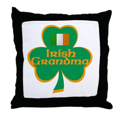 Irish Grandma Throw Pillow