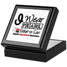 Lung Cancer Father-in-Law Keepsake Box