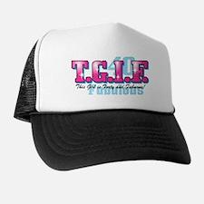 TGIF 40th Birthday Trucker Hat