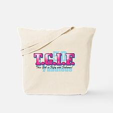 TGIF 50th Birthday Tote Bag