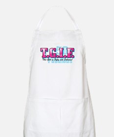 TGIF 50th Birthday BBQ Apron