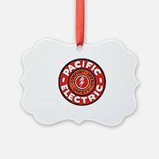 Pacific Electric logo Ornament