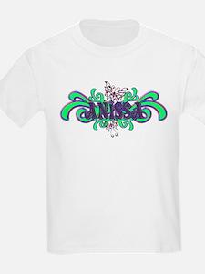 Anissa's Butterfly Name Kids T-Shirt