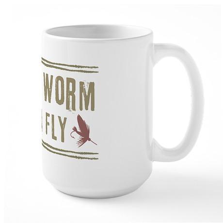 Save a Worm Large Mug