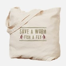 Save a Worm Tote Bag