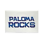 paloma rocks Rectangle Magnet (10 pack)