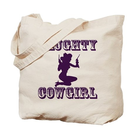 Naughty Cowgirl Tote Bag