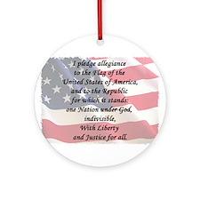 The Pledge Ornament (Round)