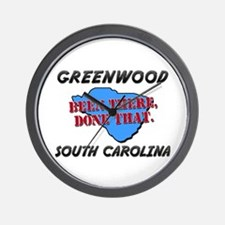 greenwood south carolina - been there, done that W