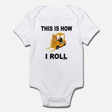 FORKLIFT OPERATOR Infant Bodysuit
