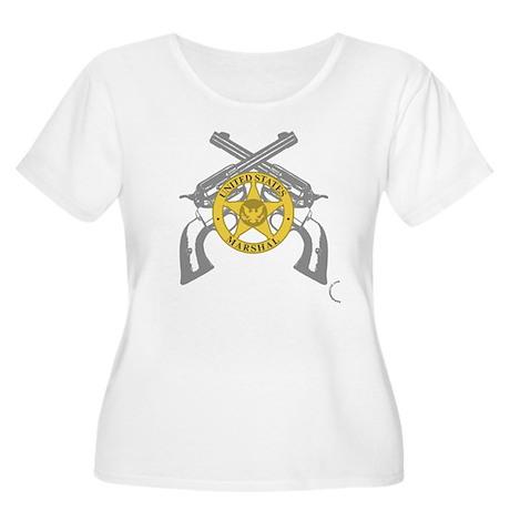 US Marshals 2 Women's Plus Size Scoop Neck T-Shirt