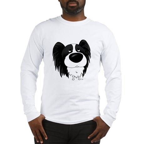 Big Nose/Butt Papillon Long Sleeve T-Shirt