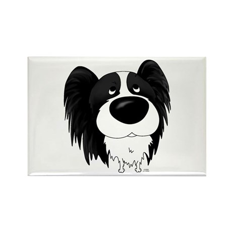 Big Nose Papillon Rectangle Magnet (100 pack)