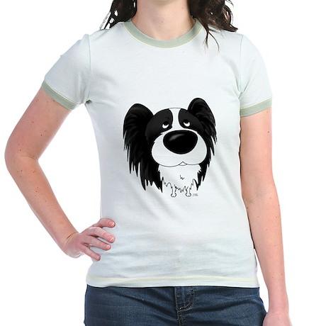 Big Nose/Butt Papillon Jr. Ringer T-Shirt