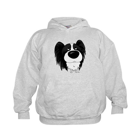 Big Nose/Butt Papillon Kids Hoodie