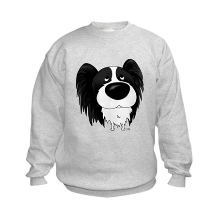 Big Nose/Butt Papillon Kids Sweatshirt