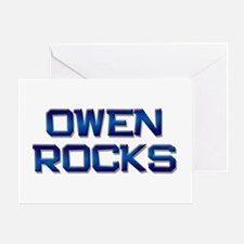 owen rocks Greeting Card