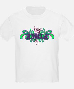Angela's Butterfly Name Kids T-Shirt