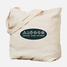 Retro gaming - choose your weapon Tote Bag