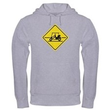 Caution Golf Car, Tennessee, USA Hoodie