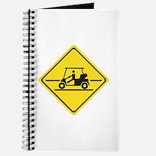 Caution Golf Car, Tennessee, USA Journal